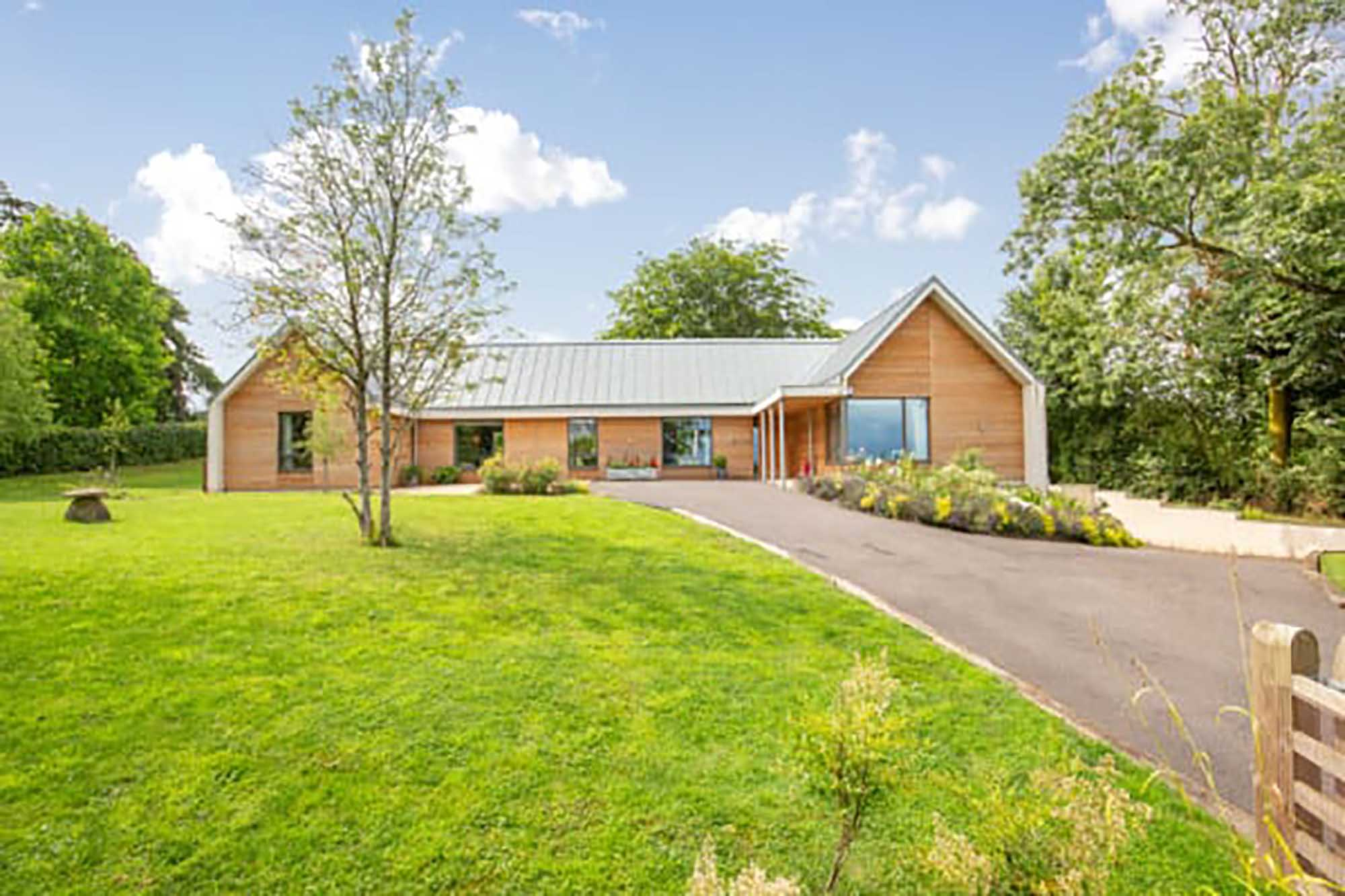 Near Frome, exceptional eco build in village setting