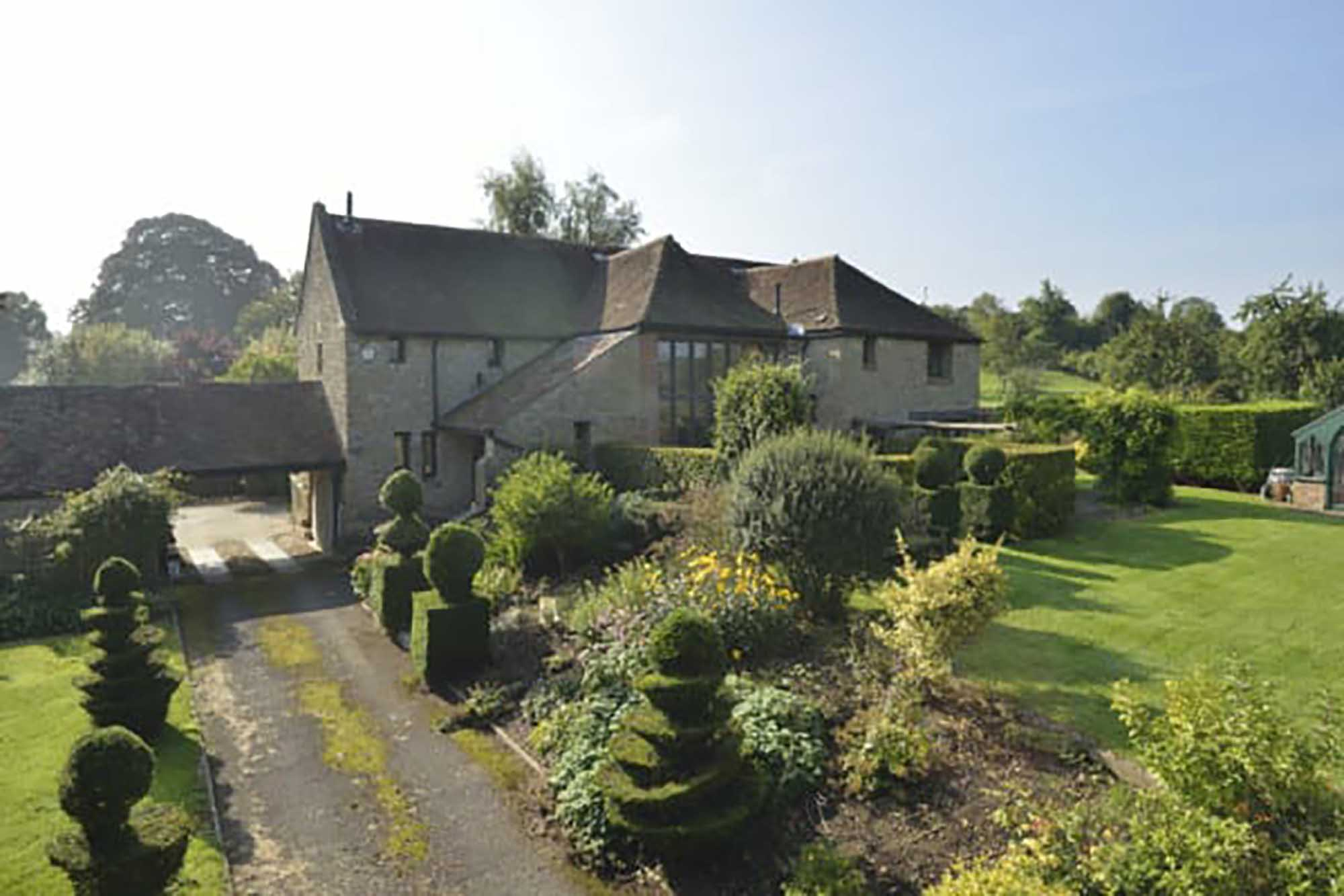 A spacious light filled property in a peaceful location on the edge of a village near Bruton.