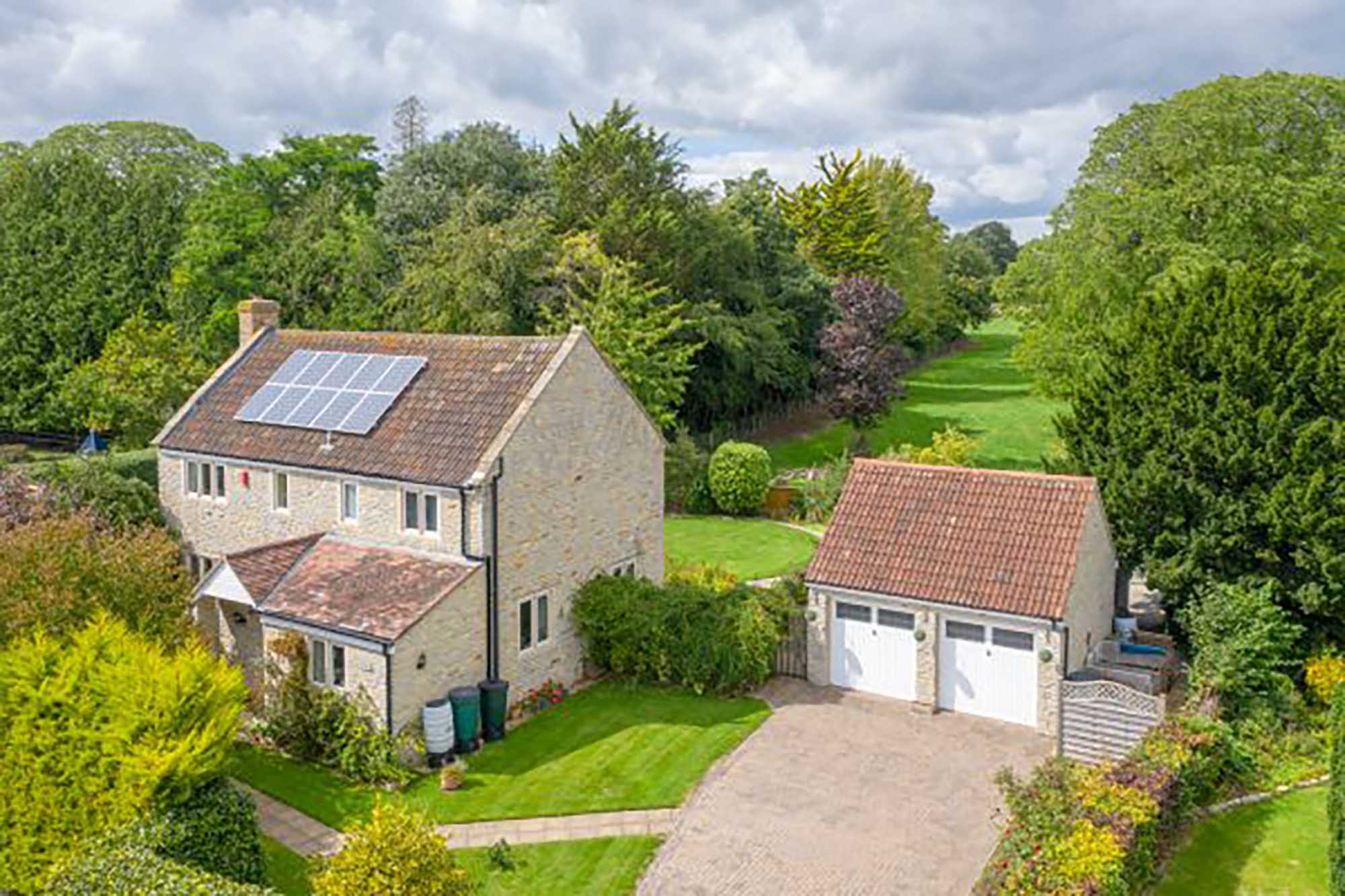 Great location in desirable village