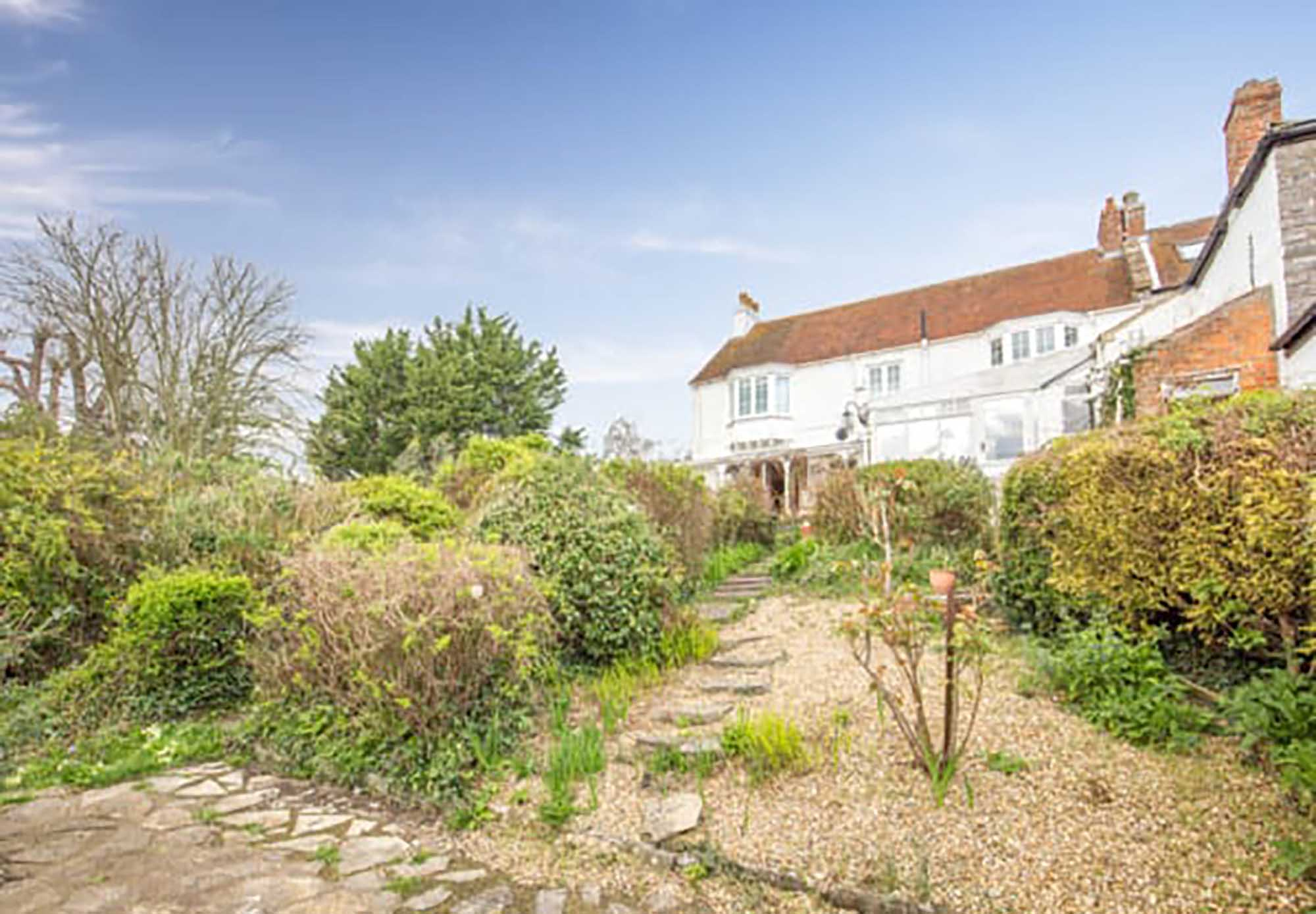 STUNNING VIEWS. Attractive period house with what must be one of the best views in Somerset!