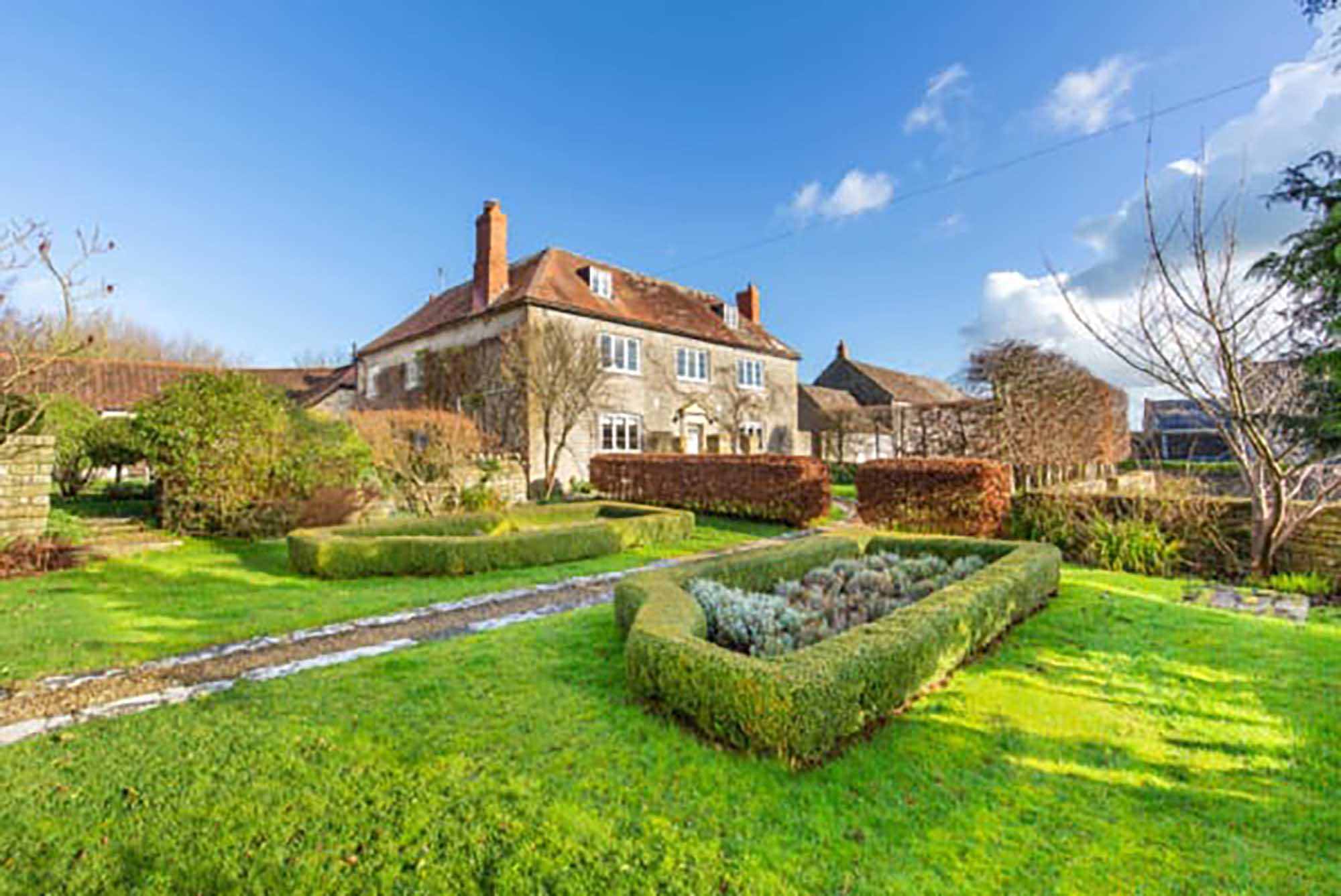 Beautiful period family home with separate cottage and land