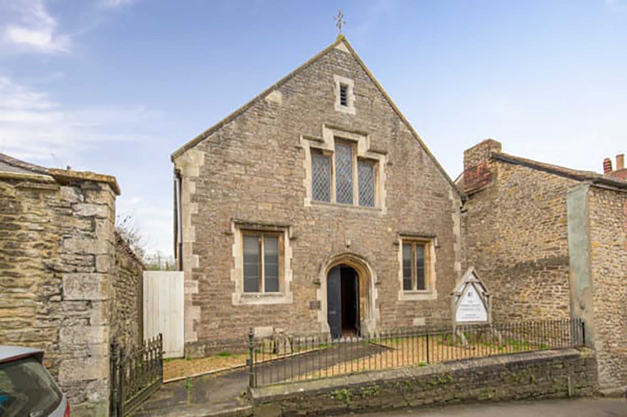 A commercial property in High Street, Bruton that also has residential Planning permission.