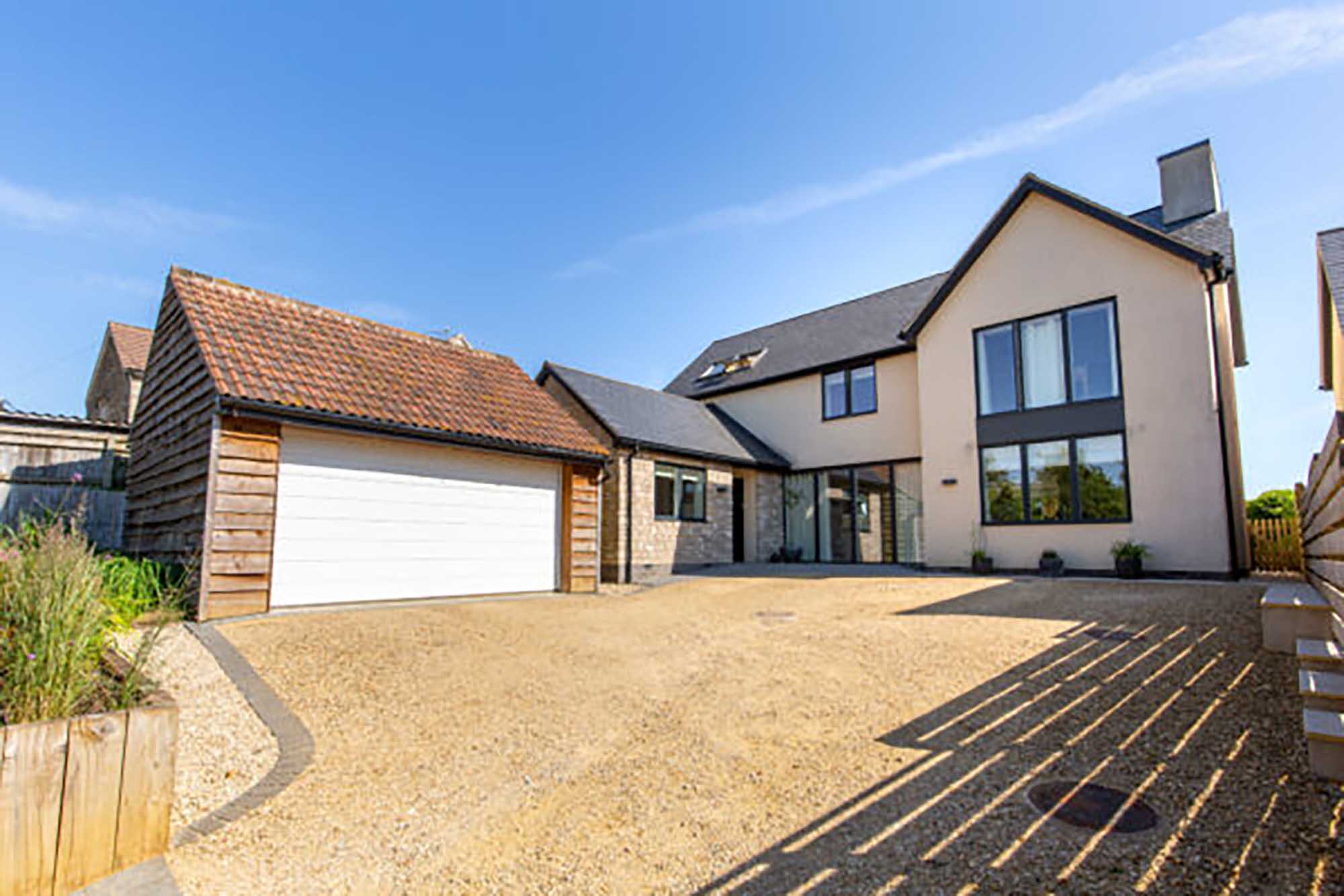 Contemporary eco-house set in lovely Somerset countryside.