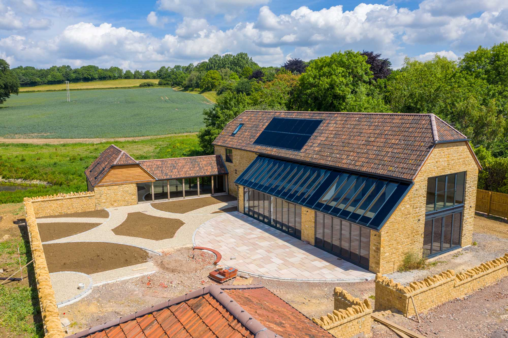 Oustanding Period Barn Conversion In Rural Somerset Lodestone Property