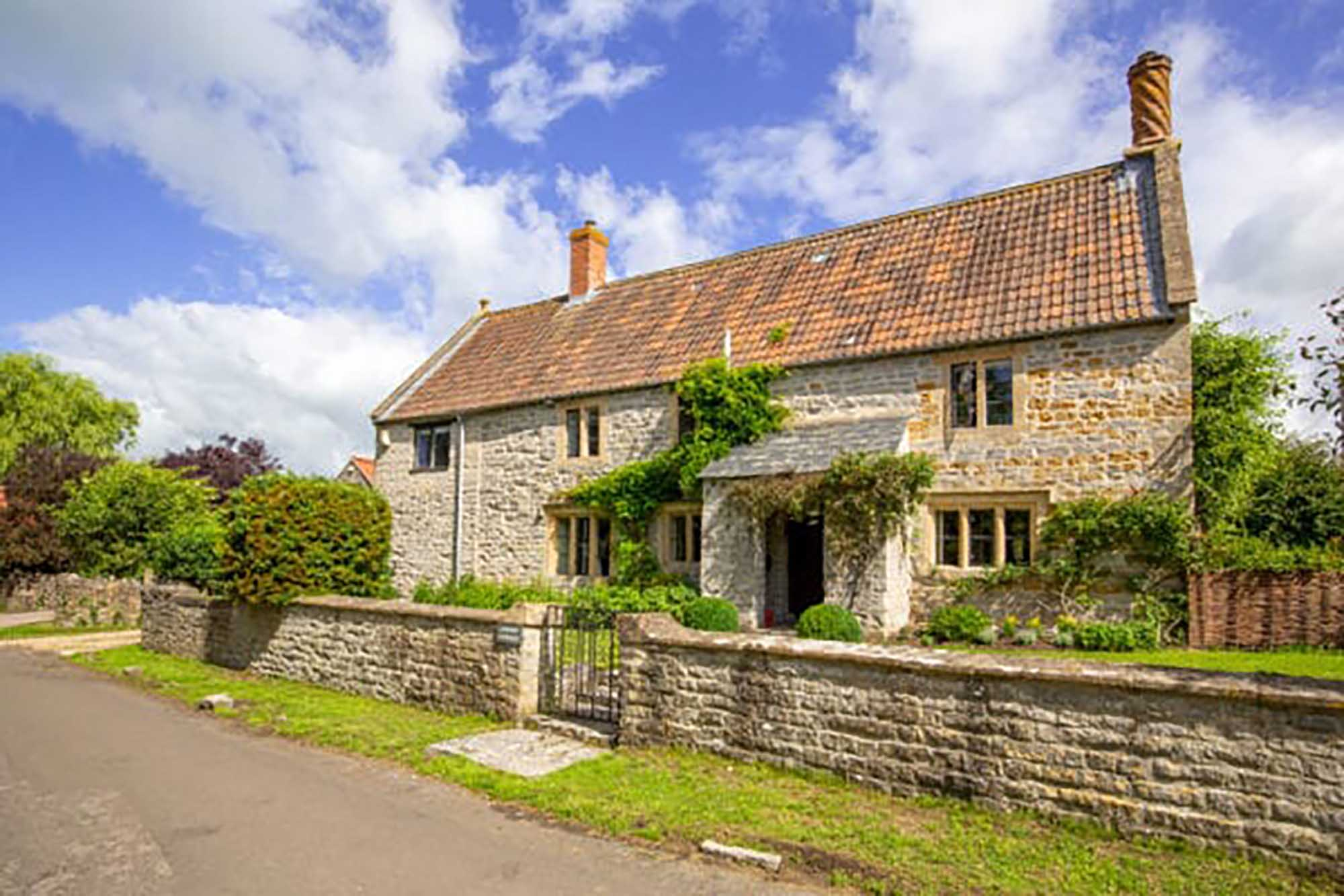 Fabulous Grade II listed family home in village location
