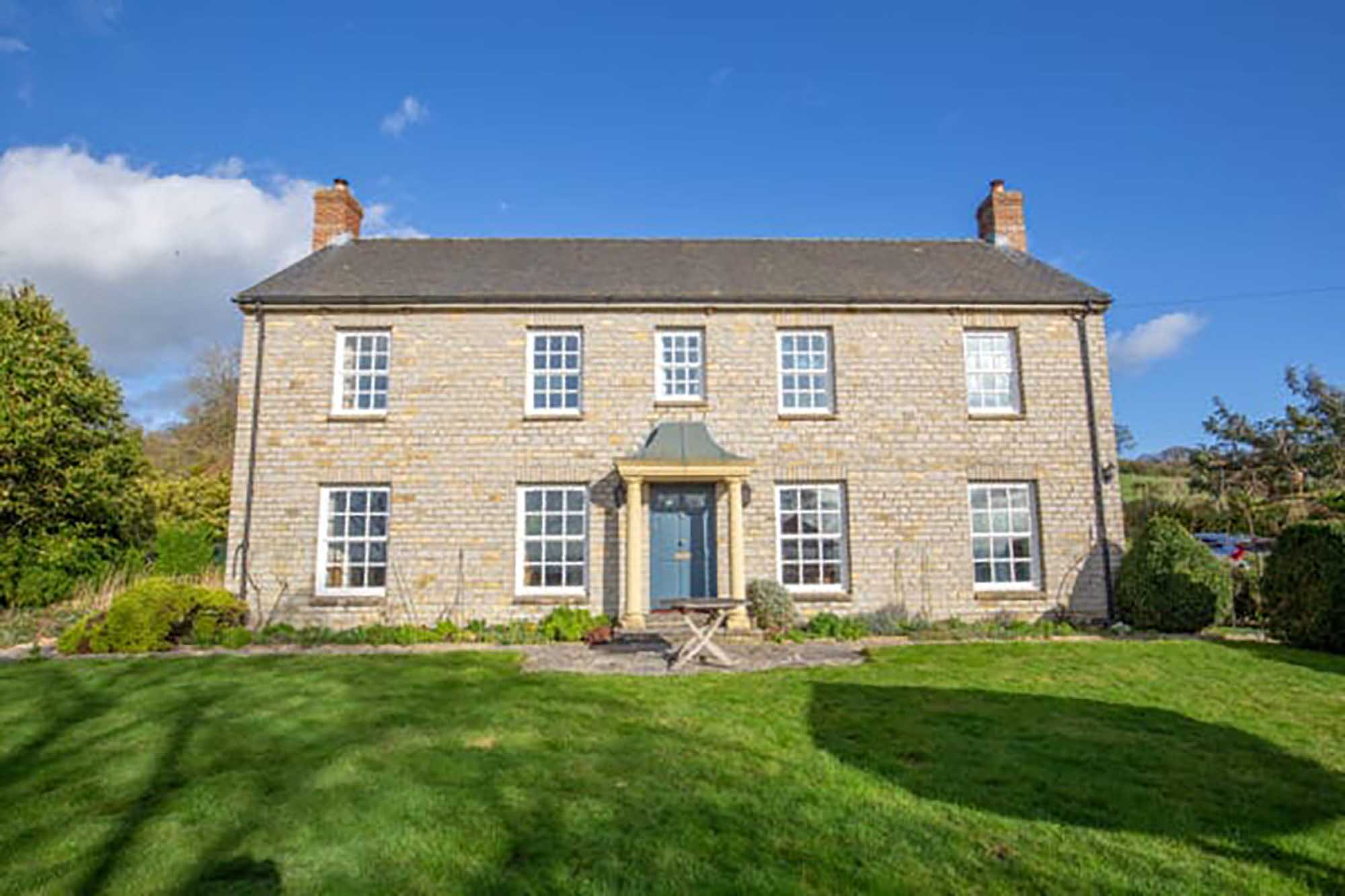 Spacious light filled property, West Pennard