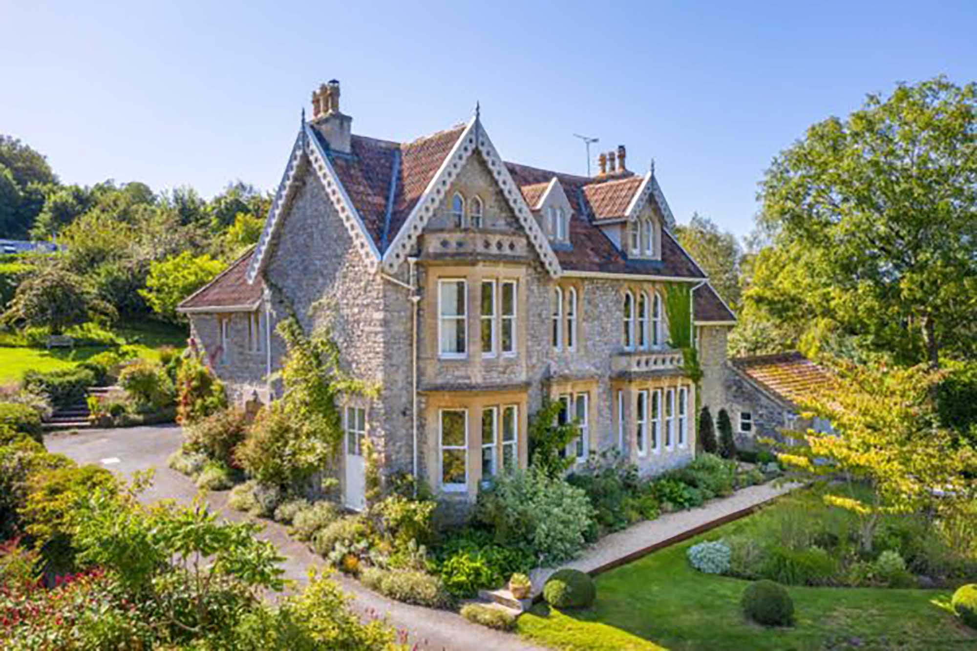 Elegant period family home with magical garden