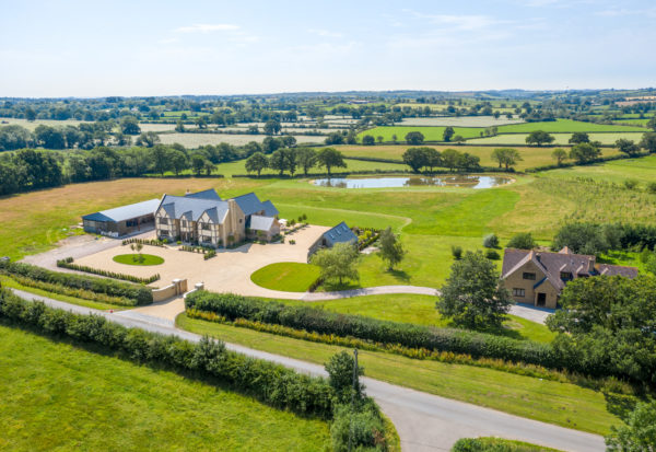 Bruton – contemporary family home with land