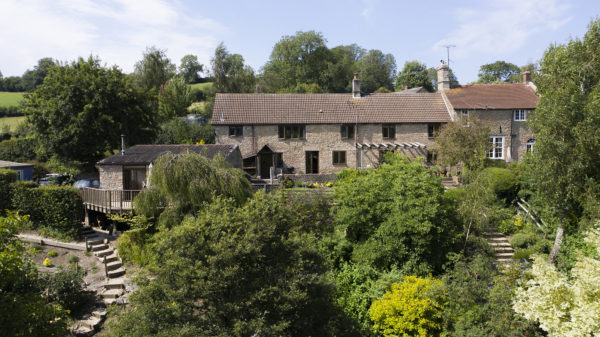 Batcombe, Farmhouse with annexe and views