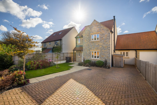 Family home in village location with stunning views