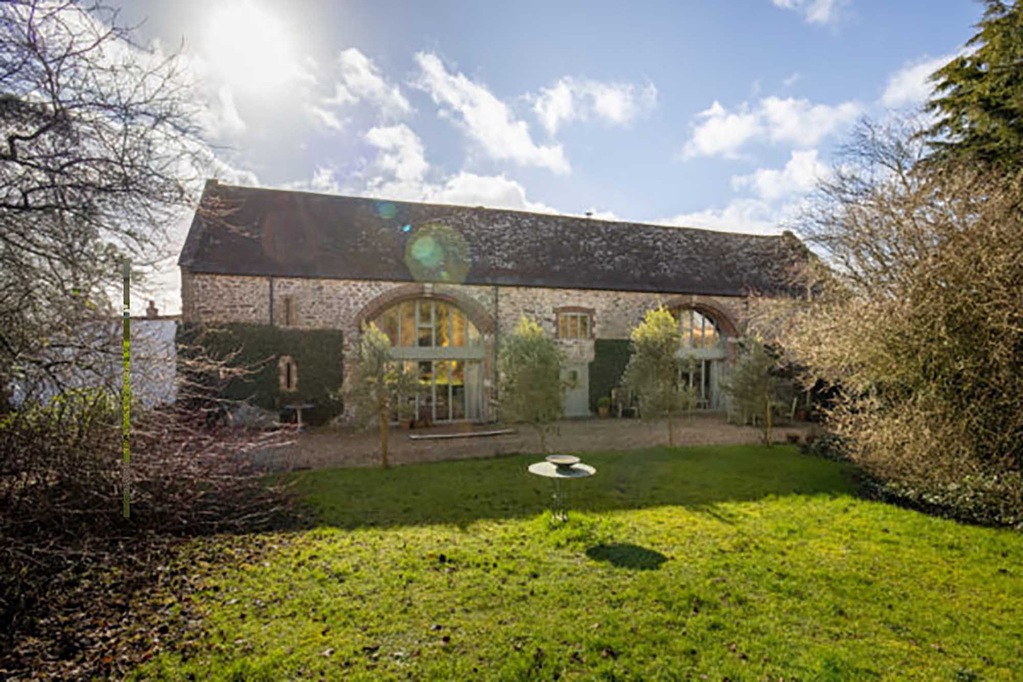 Stunning five bed period barn conversion